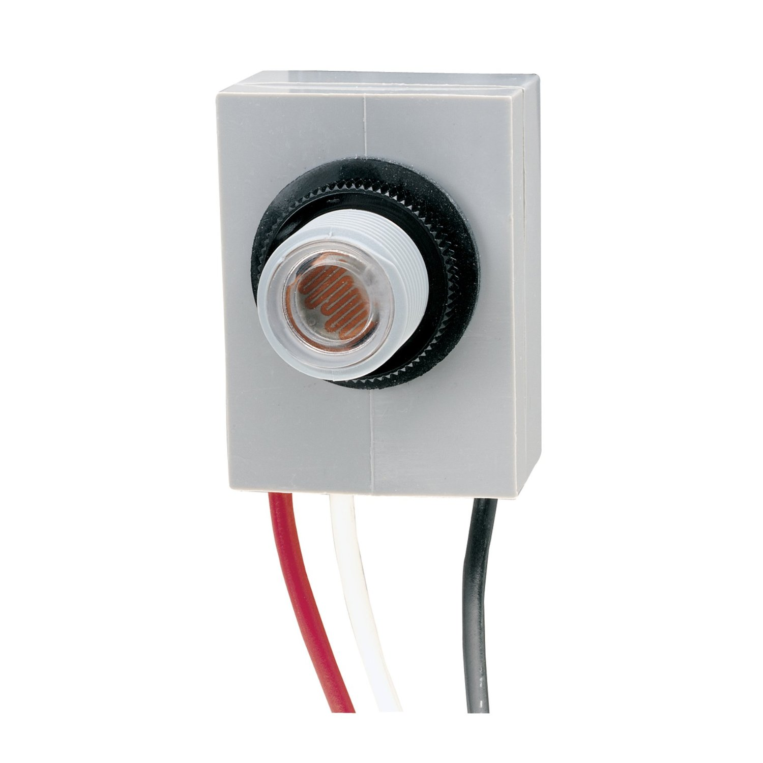 INTERMATIC K4023C 15A 208-277V Fixed Position Button Type Photocell