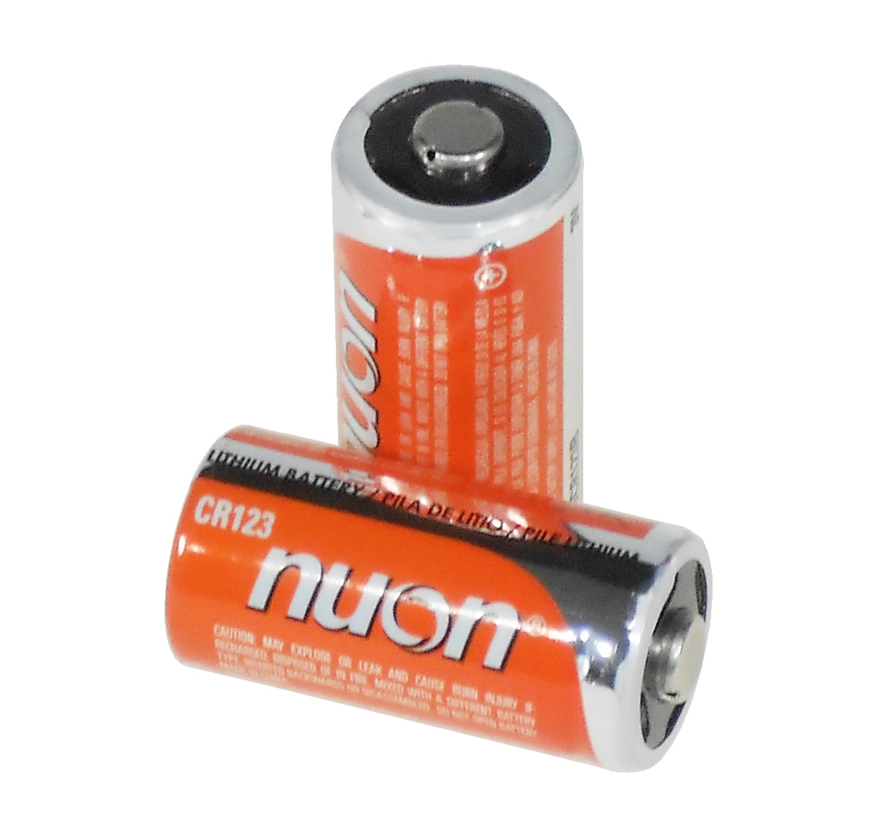 nuon nucr123b 3v lithium photo batteries size cr123a 2 pack. Black Bedroom Furniture Sets. Home Design Ideas