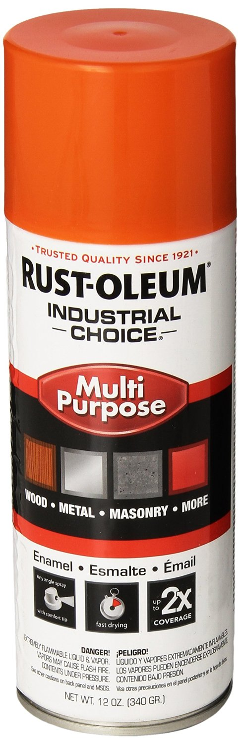 Rustoleum 1653830 enamel spray paint 12 ounce safety for Spray paint safety
