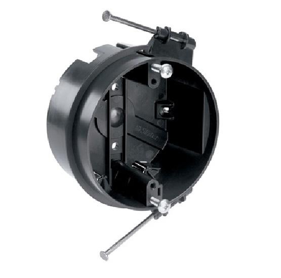P s s120 rfan 4 round ceiling fan box w 2 captive for Ceiling fan motor screws