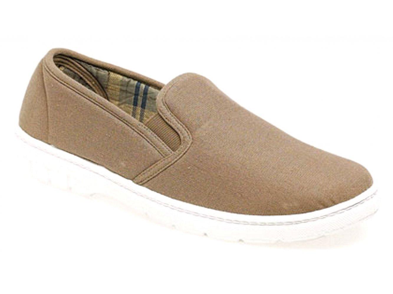 Bombas De Verano Hombres Zapatos de Lona de Verano S Chicos. los escudetes Elástico. 2 Colores