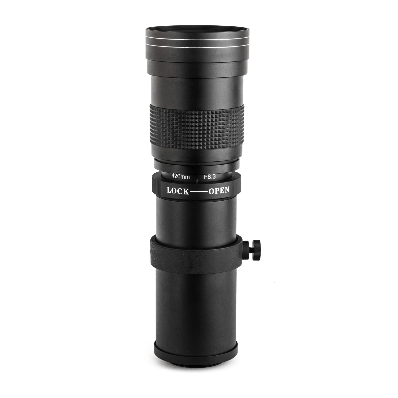 Opteka 420-800mm f/8.3 HD Telephoto Zoom Lens for Nikon D4s, D4, D3x, Df, D810, D800, D750, D610, D600, D8100, D800, D7100, D700 at Sears.com