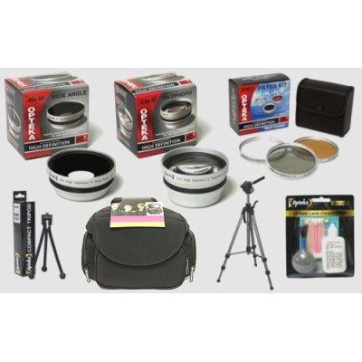 Opteka Panasonic Lumix DMC-FZ7 & DMC-FZ8 Digital Camera HD2 Professional Digital Accessory Kit at Sears.com