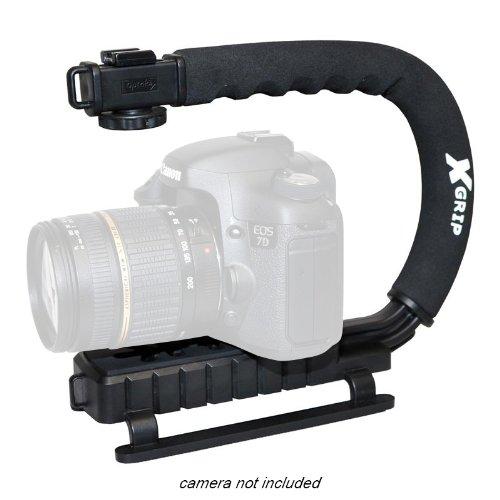 Opteka X-GRIP Professional DSLR Digital Camera Stabilizing Action Video Support Hand Grip Handle Stabilizer Handheld Holder for at Sears.com