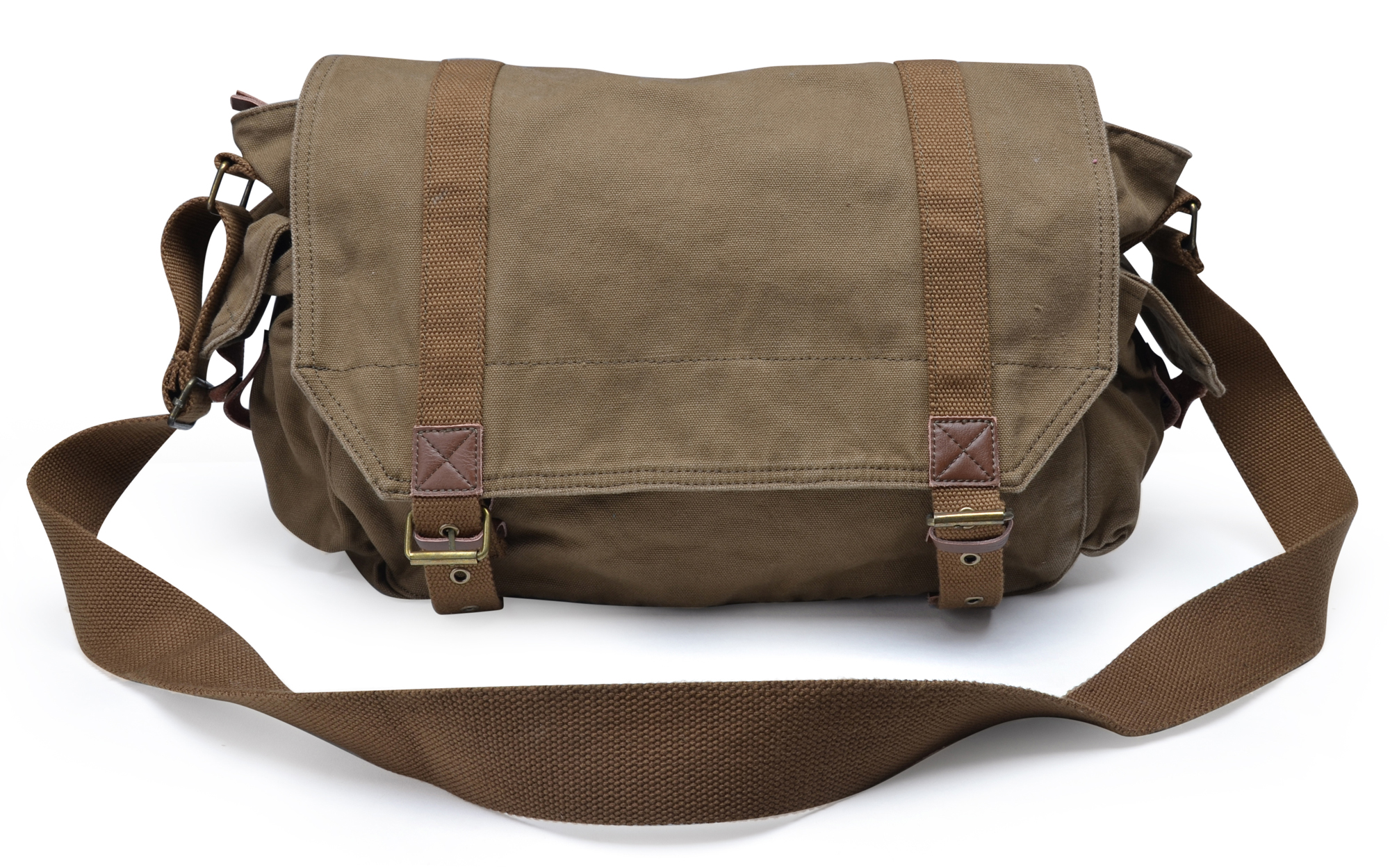 Gootium High Density Thick Canvas Canvas Messenger Bag Cross Body ...