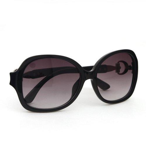 Black Retro Unisex Big Frame Sunglasses Sports Motorcycle ...
