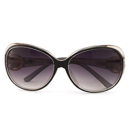 Black Classic Vintage Big Frame Glasses Sport Fishing ...