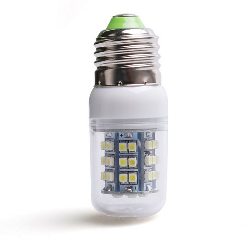 New E27 48 Smd 3528 Energy Efficient White 280lumen Led Light Bulb Ac 220v Ebay