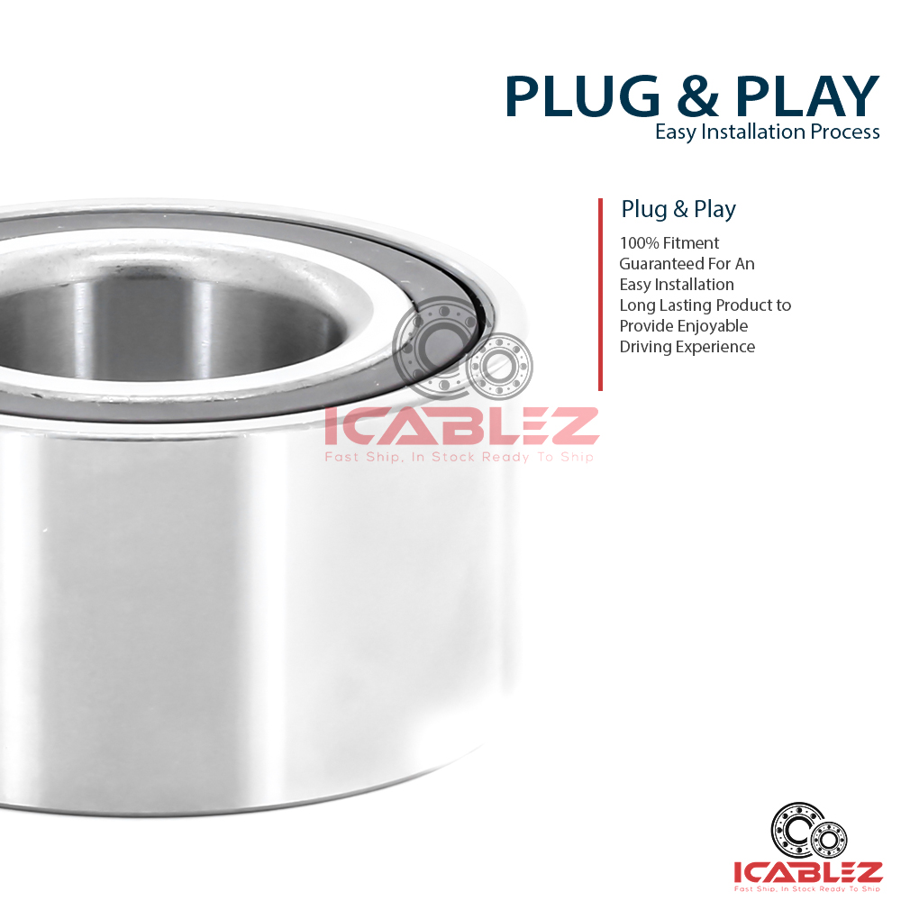 2016 Nissan Versa Exterior: 2x Front Wheel Hub Bearing Replacement For 2012-2016