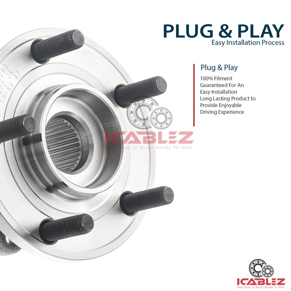 how to change rear wheel bearing on 05 mdx