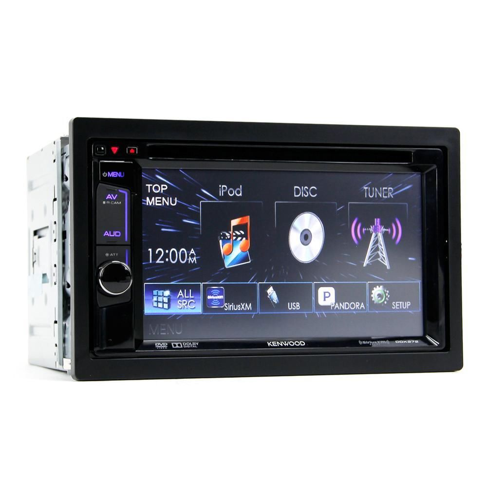new kenwood ddx272 6 2 double din touchscreen dvd stereo. Black Bedroom Furniture Sets. Home Design Ideas