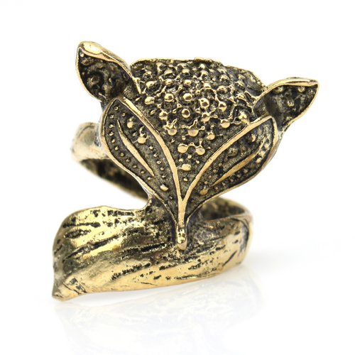 fashion jewelry ring antique silver bronze vintage