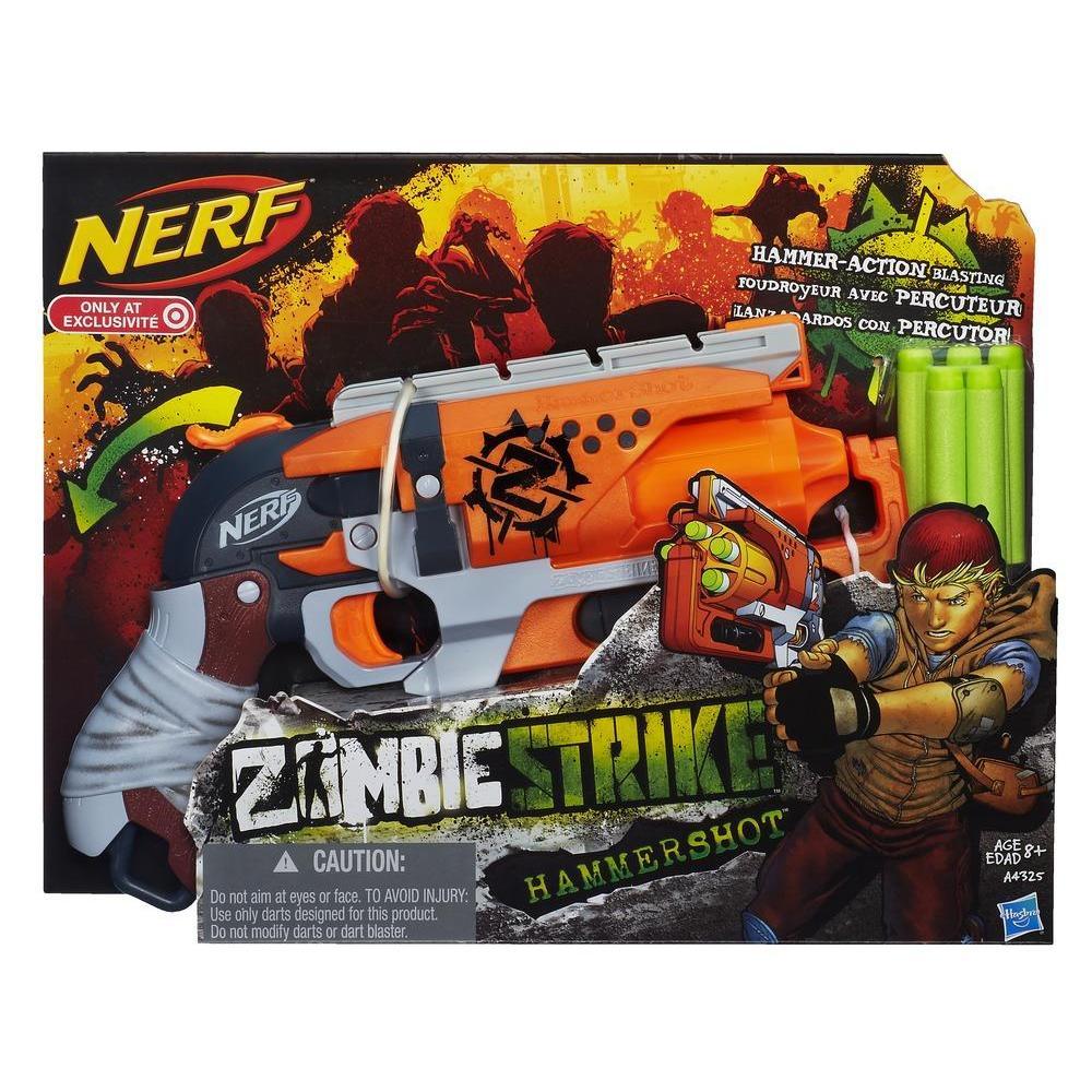 Nerf Zombie Strike Hammershot Blaster