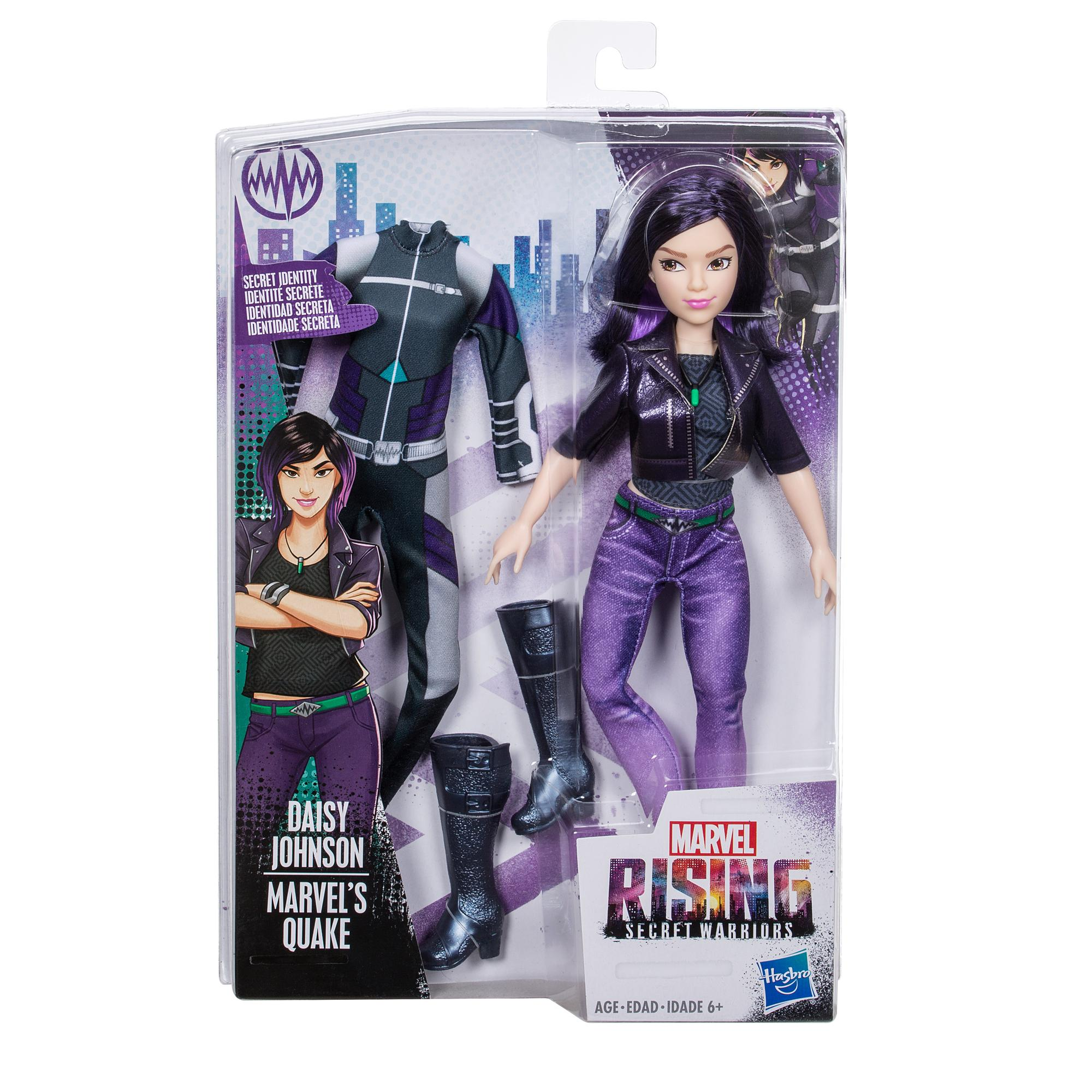 Secret Identity Doll Marvel Rising Daisy Johnson Marvel/'s Quake