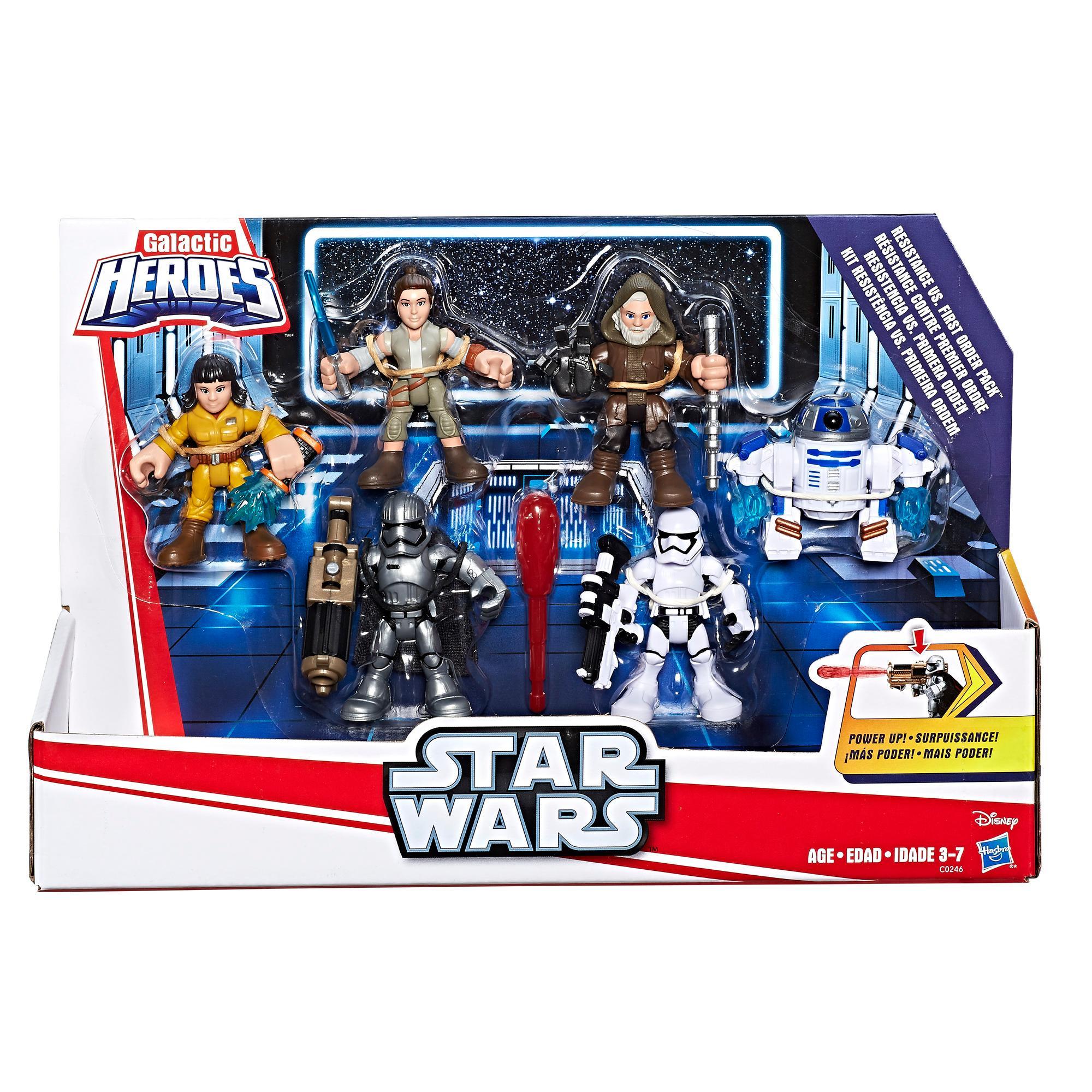 First Order Pack Galactic Heroes Star Wars Resistance VS