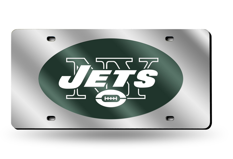 NEW York Jets Laser License Plate