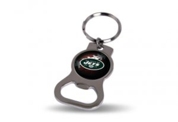 NEW York Jets Keychain And Bottle Opener