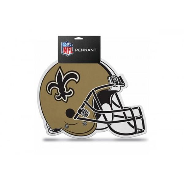 NEW Orleans Saints Die Cut Pennant