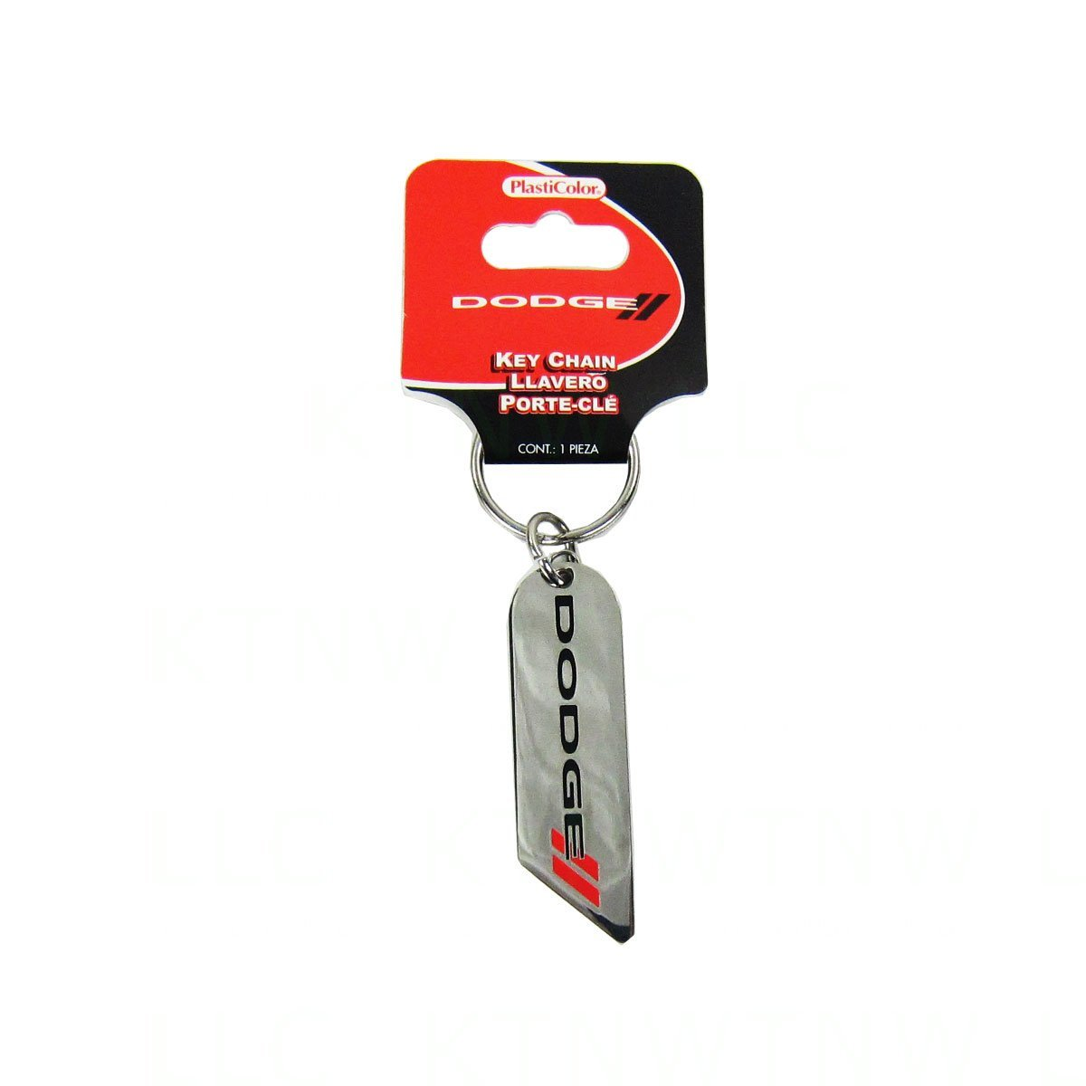 Officially LICENSED Metal Keychain - Dodge