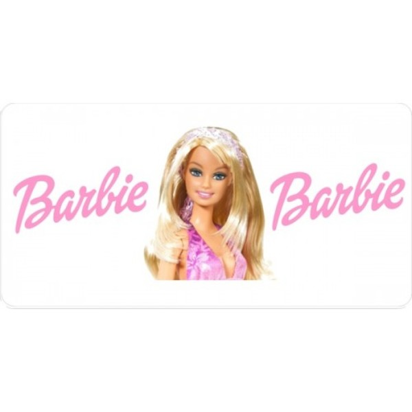 BARBIE Photo License Plate