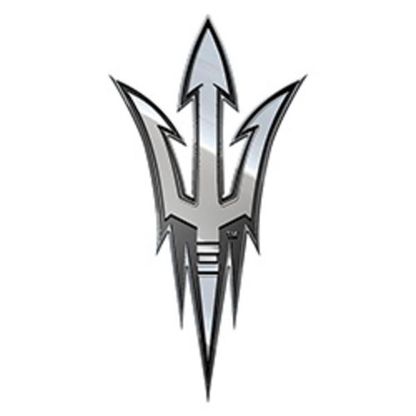 Arizona State University NCAA Metal Auto Emblem