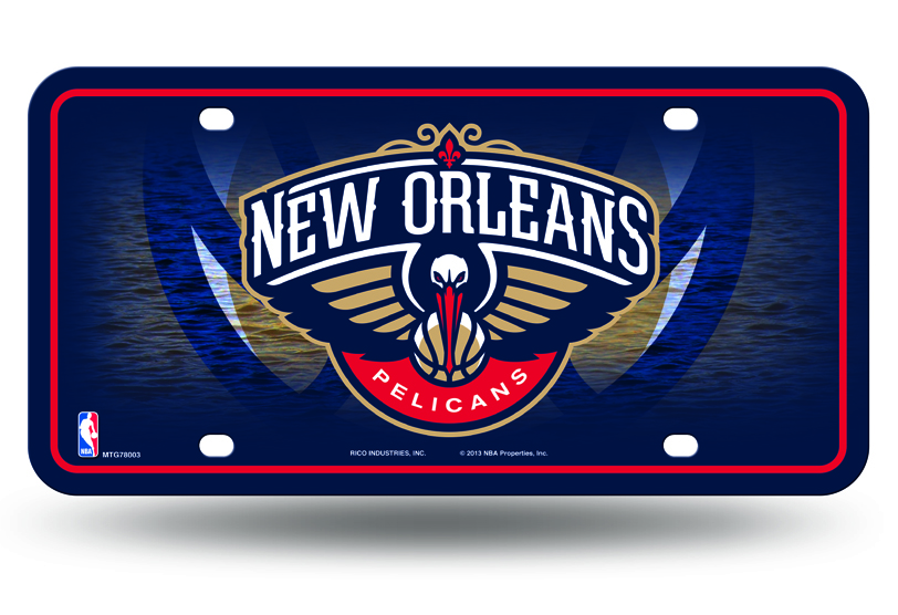 NEW Orleans Pelicans License Plate