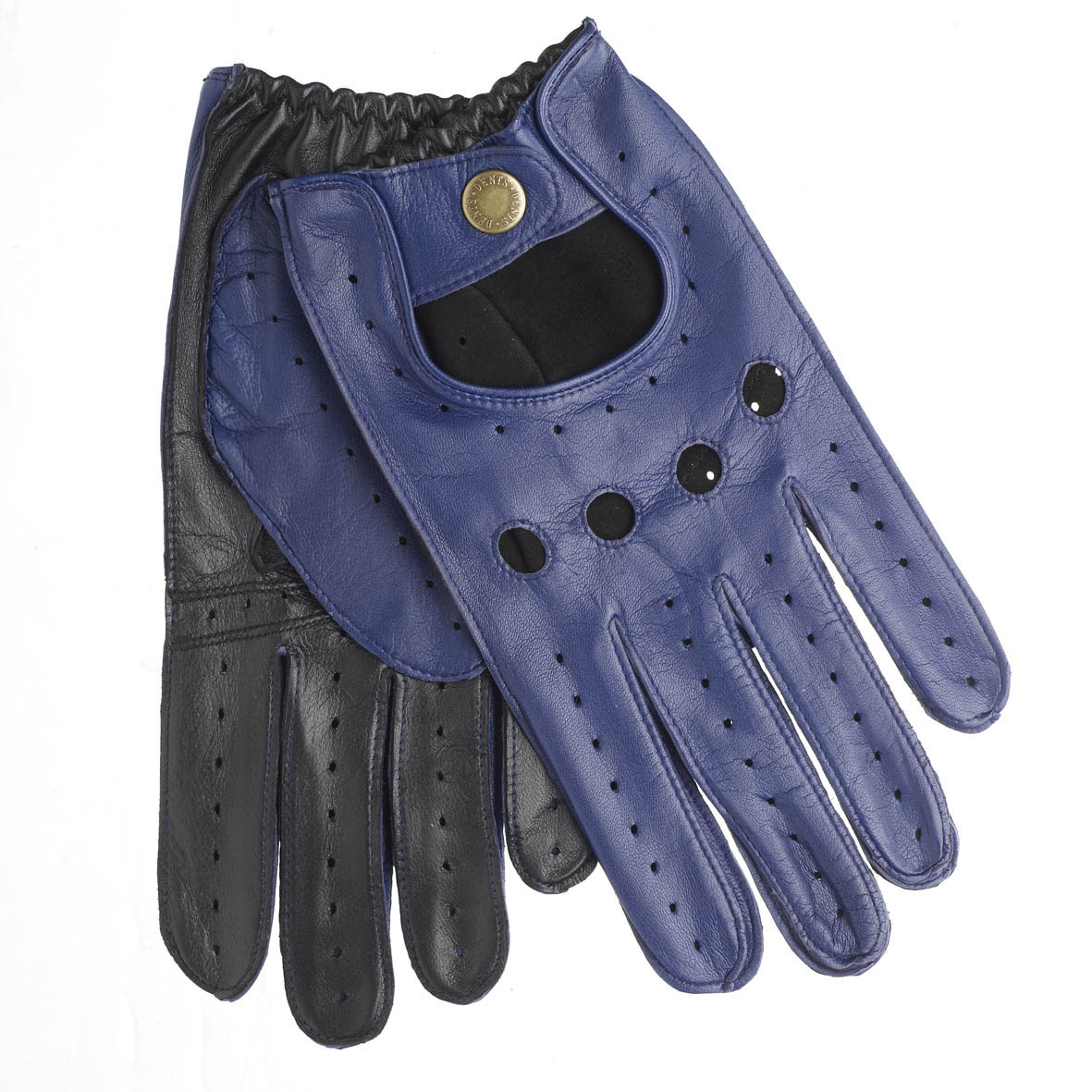 Blue leather driving gloves - Image Is Loading Dents Leather Driving Gloves 5 1021 Royal Blue