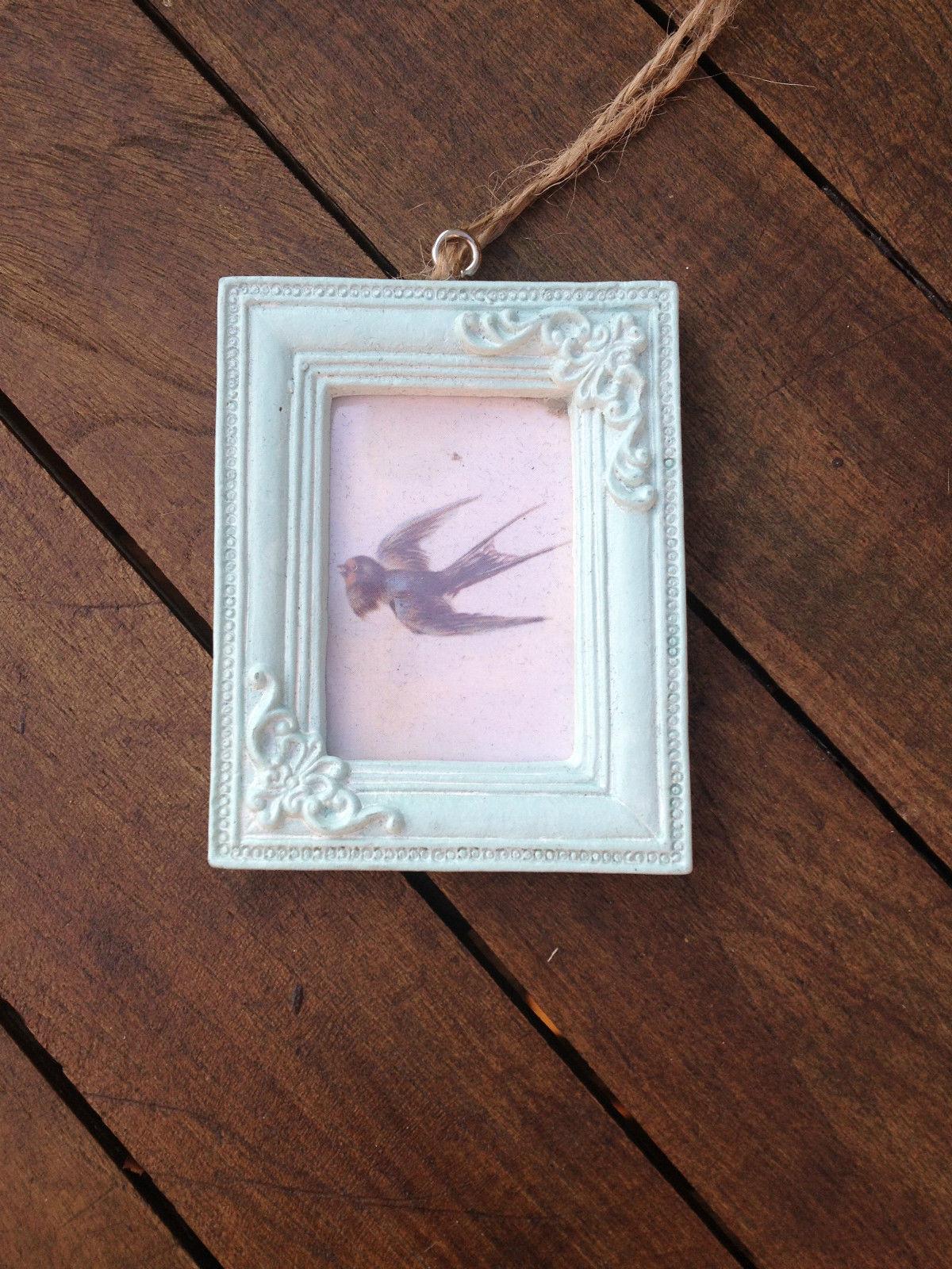 vintage style mini photo frames hanging picture photo. Black Bedroom Furniture Sets. Home Design Ideas