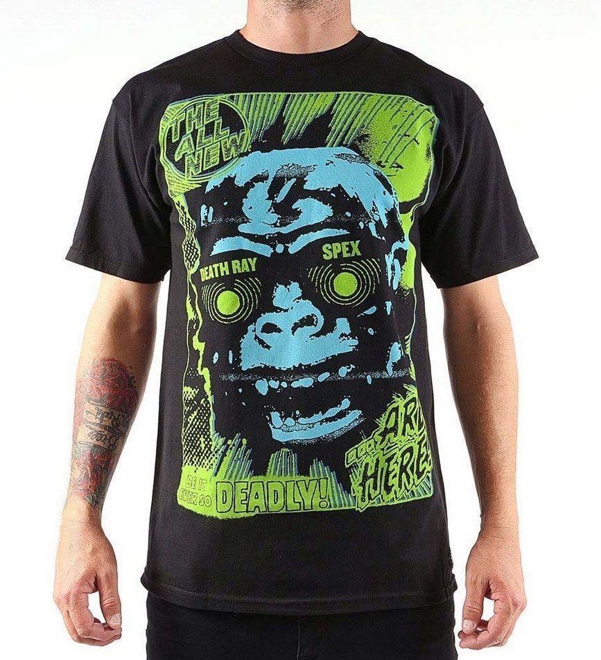 New Mens Iron Fist Deathray Specs T Shirt Size Extra Small