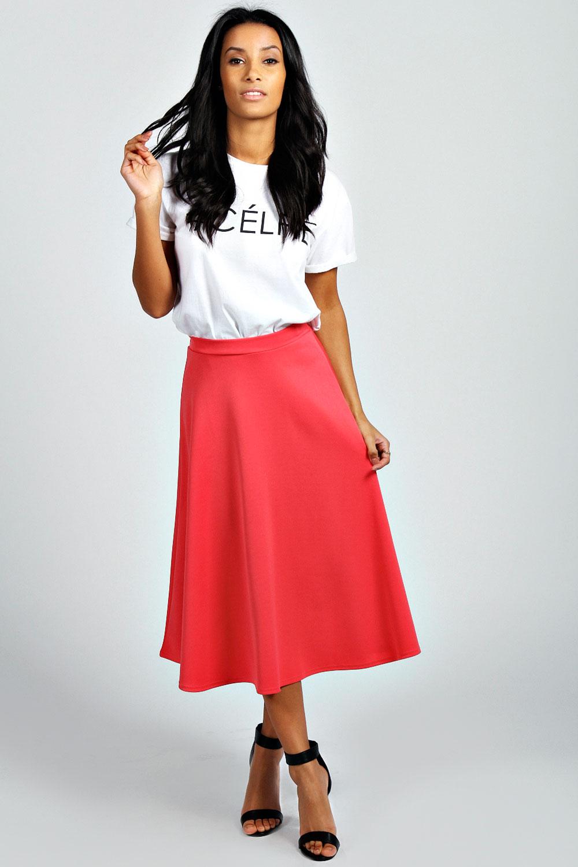 Womens Midi Skirts