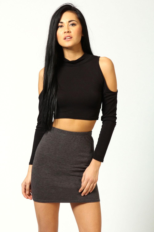 Boohoo Womens Ladies Maisy Mini Bodycon Hip Length Skirt | eBay