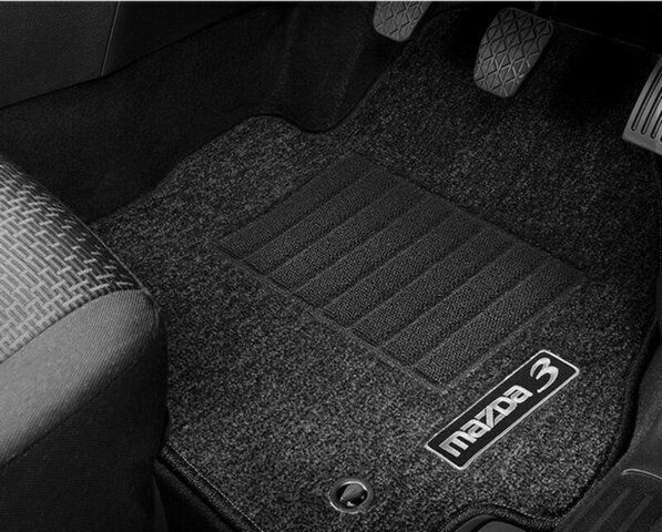 new genuine mazda 3 bl carpet floor mat set 4 mats mazda3. Black Bedroom Furniture Sets. Home Design Ideas