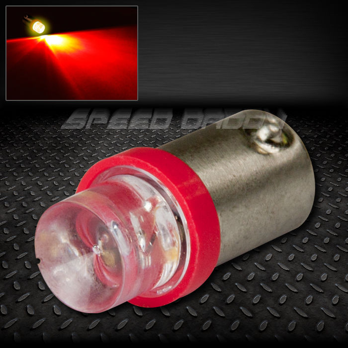 8mm round led t10 ba9s t4w 1895 red auto interior dome 12v light bulb lamp bulbs ebay. Black Bedroom Furniture Sets. Home Design Ideas