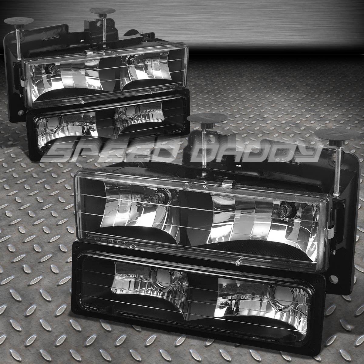 fits 88 98 gmc sierra suburban c k 1500 2500 3500 black. Black Bedroom Furniture Sets. Home Design Ideas