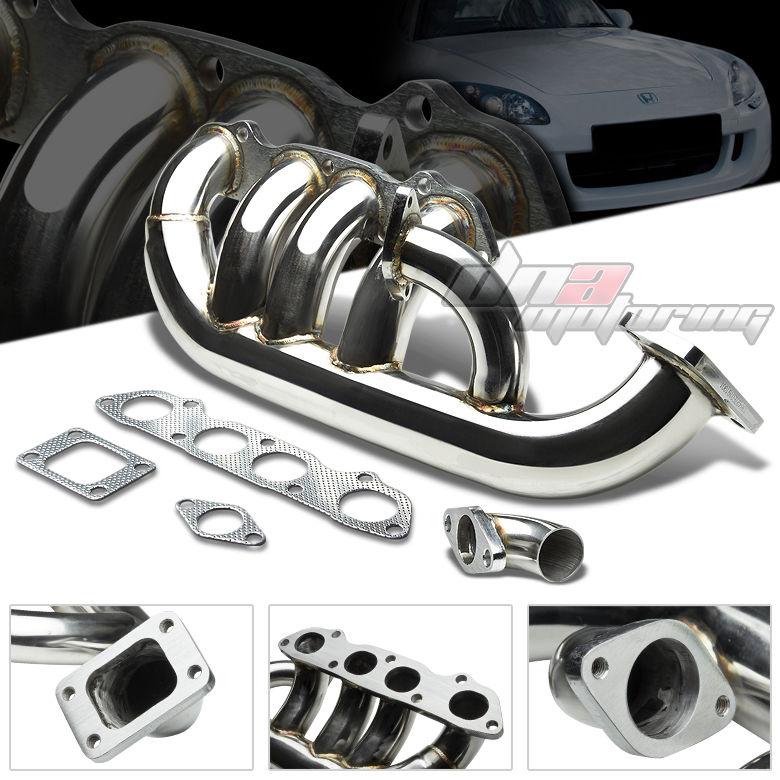 Honda S2000 Supercharger Vs Turbo: 00 09 Honda S2000 S2K AP1 AP2 T3 Stainless Steel Turbo