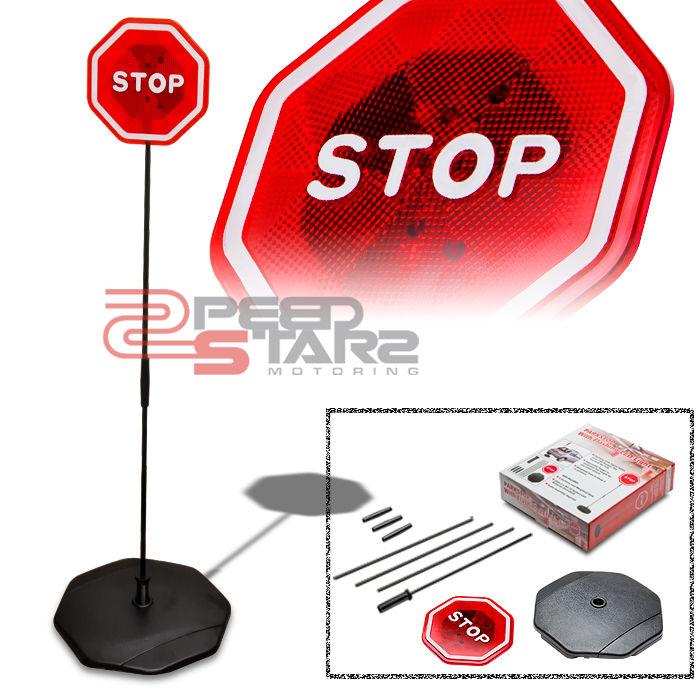 """Led Lights For Domestic Garage: 50.75"""" CAR GARAGE PARK STOP SIGN MOTION FLASH/FLASHING LED"""
