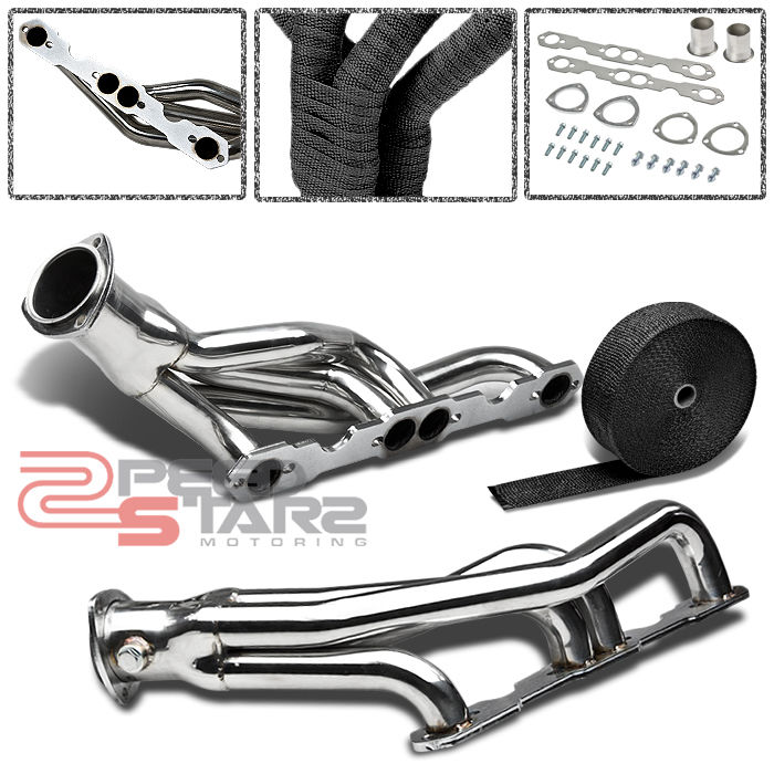 CHEVY GMC SMALL BLOCK 307/327/305/350/400 STAINLESS