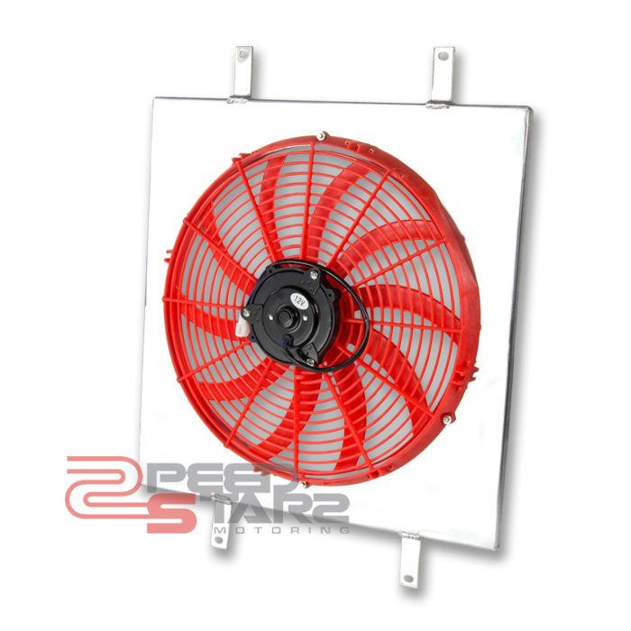 Rx7 Engine Temp: SAVANNA RX7/RX-7 FC/S4 MT/MANUAL ALUMINUM RADIATOR RED