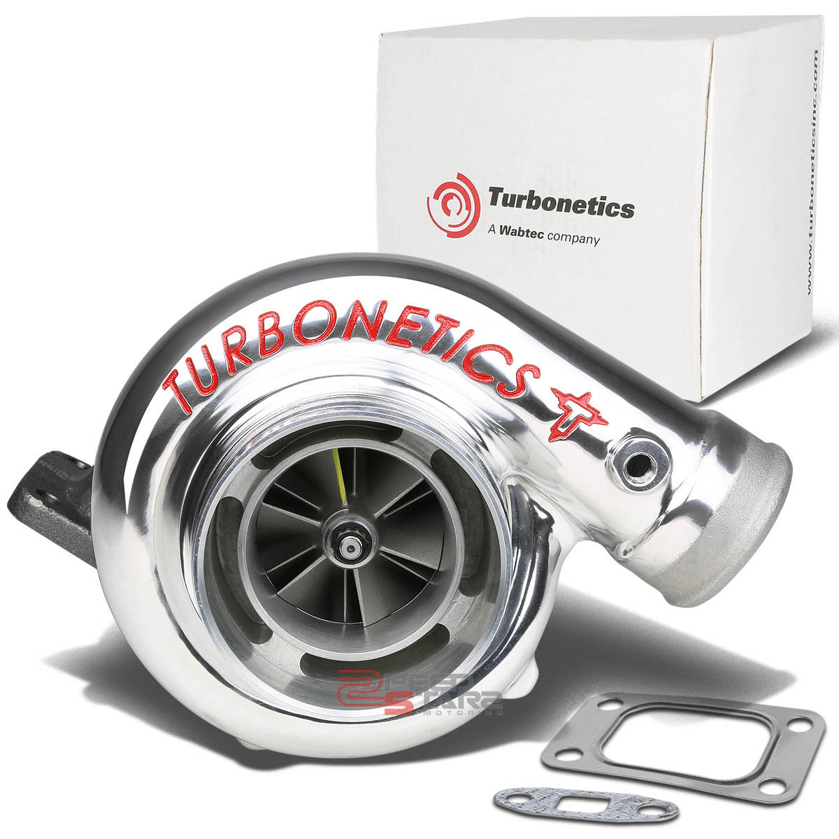 "Turbonetics T3 T4 Turbo: TURBONETICS TURBOCHARGER HURRICANE LETY 4/2.5"" COMP IN/OUT"