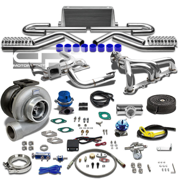 Chevy 350 Turbo Kit Ebay: CHEVY SMALL BLOCK GT45 T4 FLANGE TURBO+STAINLESS MANIFOLD