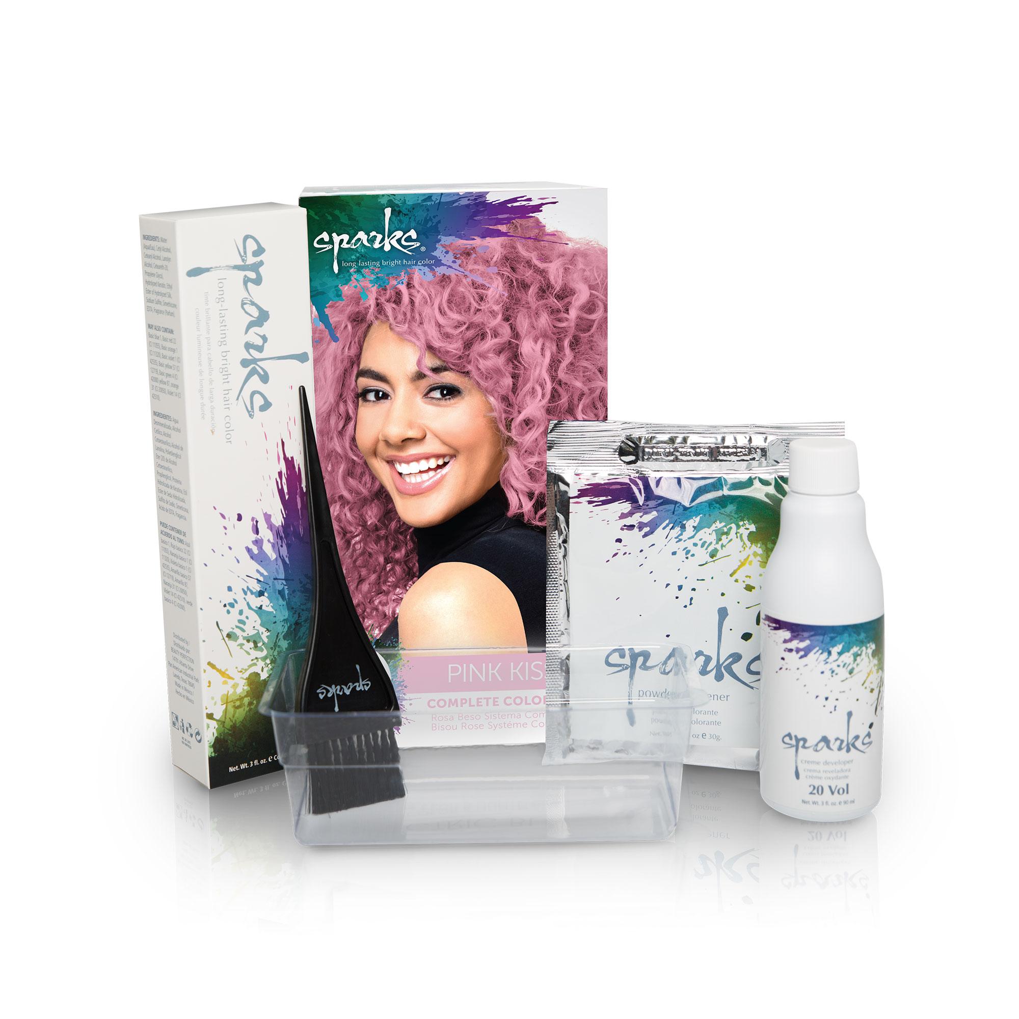 Hair Clinic Powder Bleach Kit Dye Color Lightener