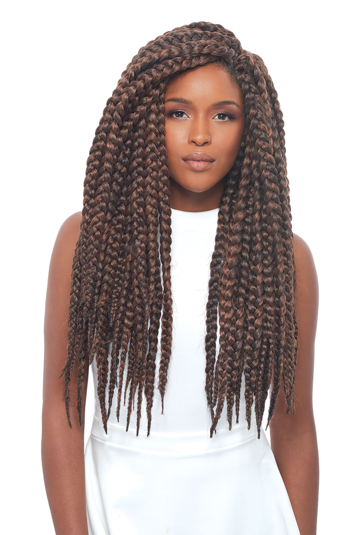 ... BRAID 24 - JANET COLLECTION SYNTHETIC CROCHET BRAIDING HAIR eBay