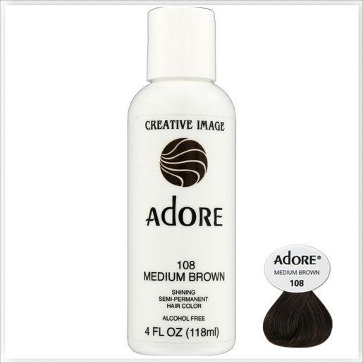 adore creative image shining semi permanent hair color - Semi Permanent Coloration