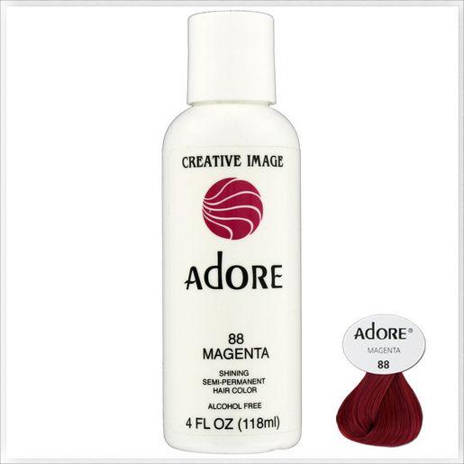 Adore Creative Image Shining Semi Permanent Hair Color