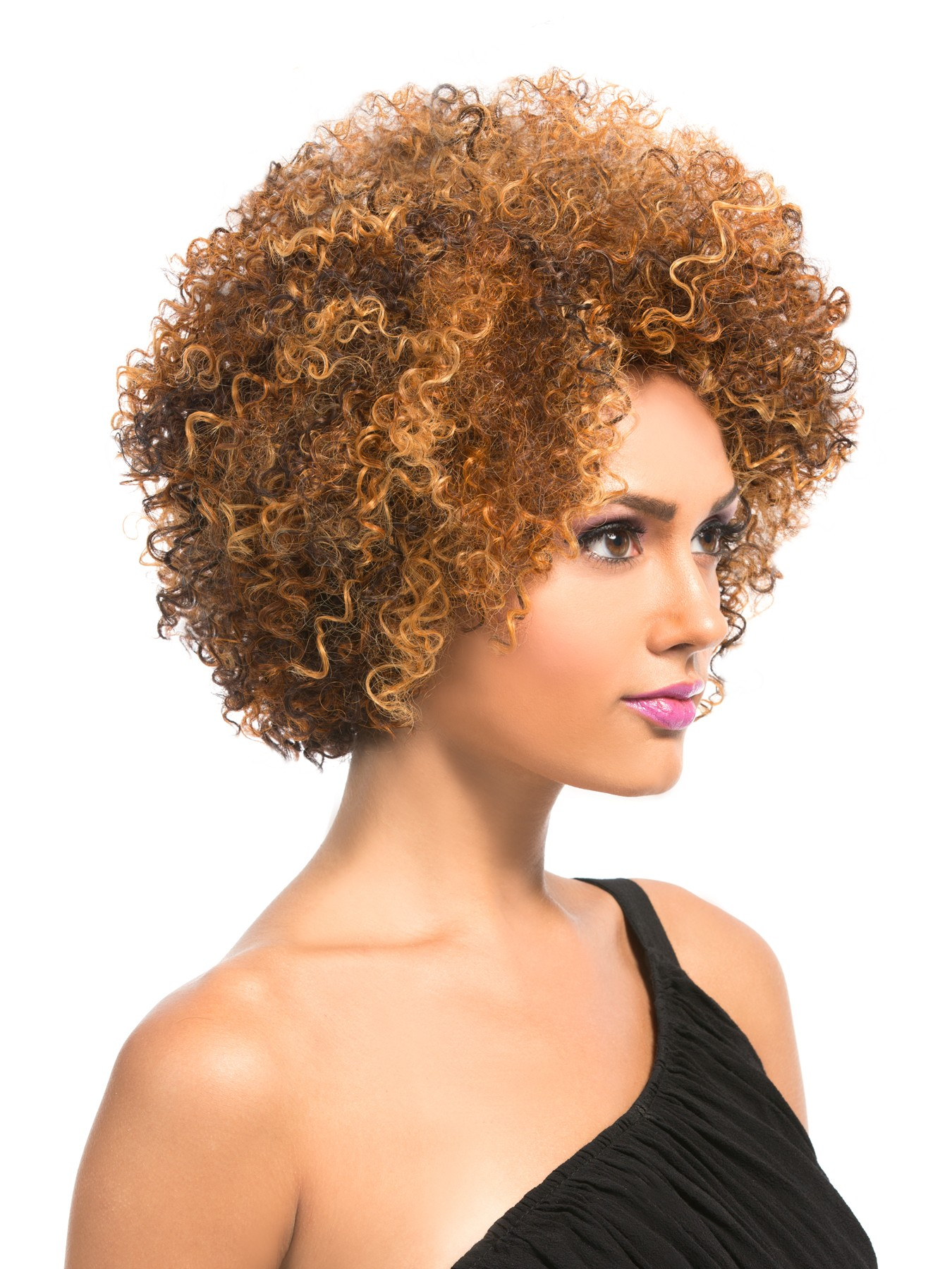 how to make a short afro wig