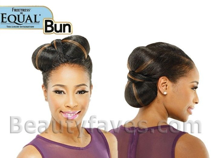 BILLBOARD BY SHAKE N GO FREETRESS EQUAL SYNTHETIC HAIR BUN DOME