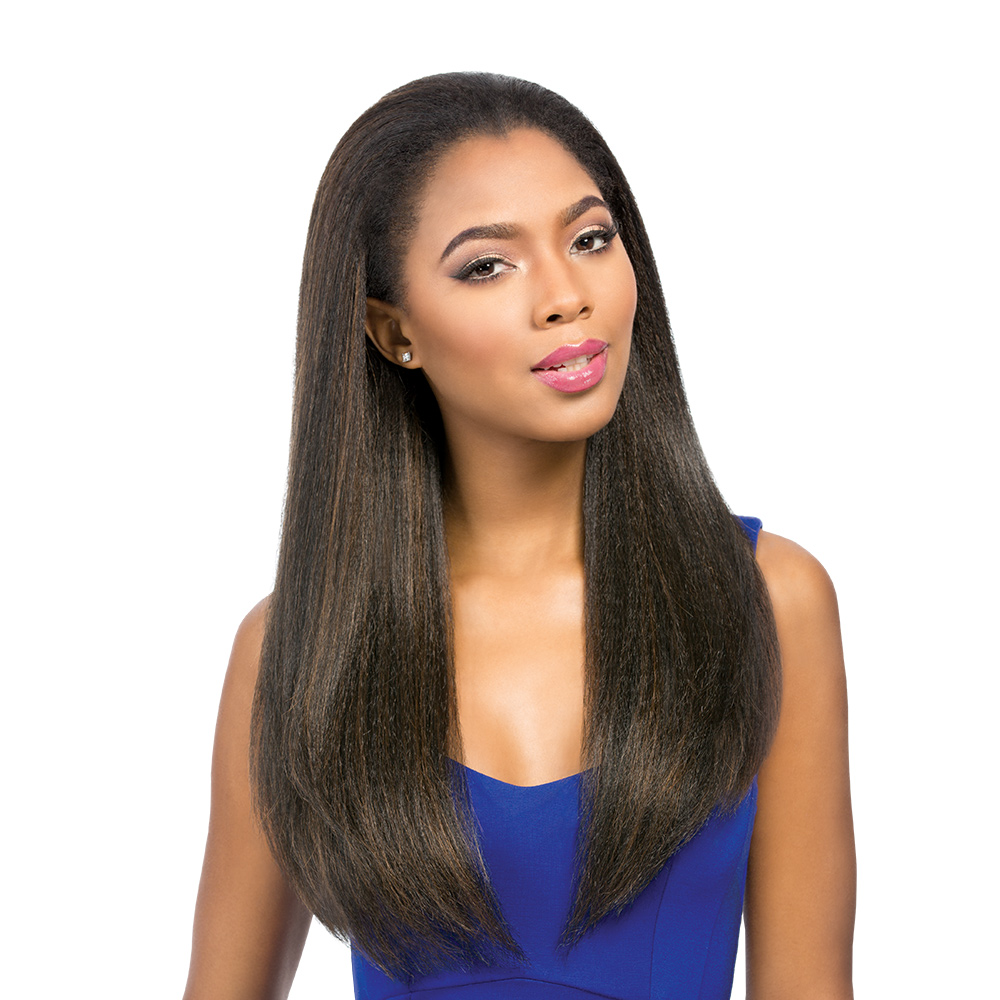 BOLGA - SENSATIONNEL SYNTHETIC INSTANT HALF WIG LONG ...