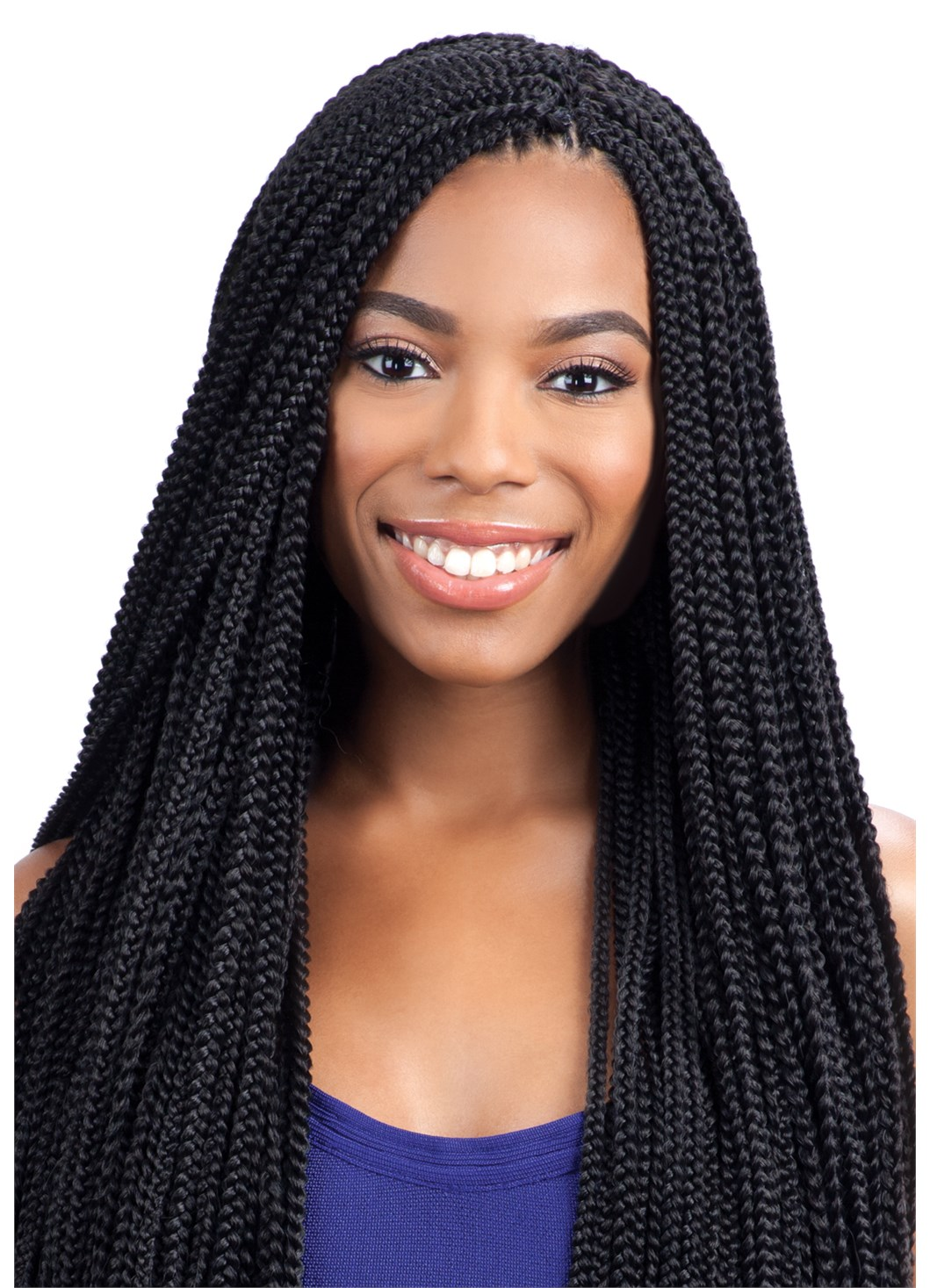How To Do Crochet Box Braids Small : SMALL BOX BRAIDS - FREETRESS SYNTHETIC CROCHET BRAID HAIR PRE-LOOPED ...