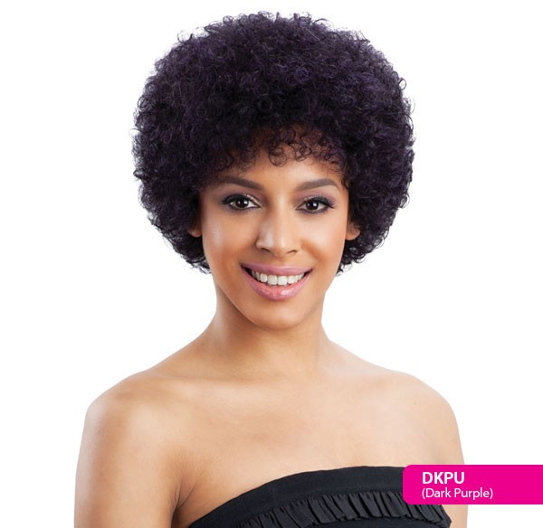 Bubble Pink Milkyway Saga 100 Human Remy Hair Short