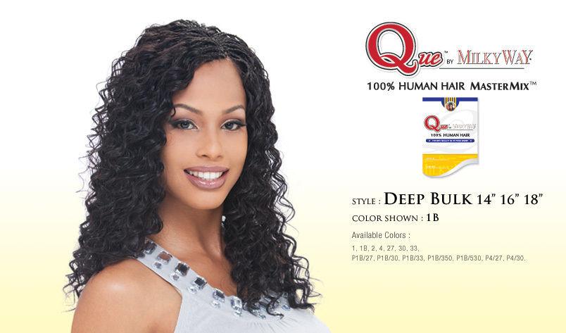 Deep Bulk 16 Quot Que By Milkyway 100 Human Braiding Hair